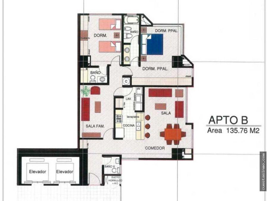 apartamento en renta torre condesa zona 14 d