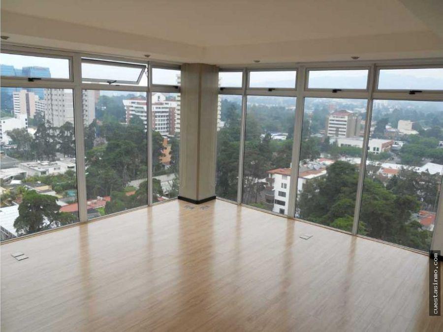 apartamento en renta torre 14 zona 14 directo