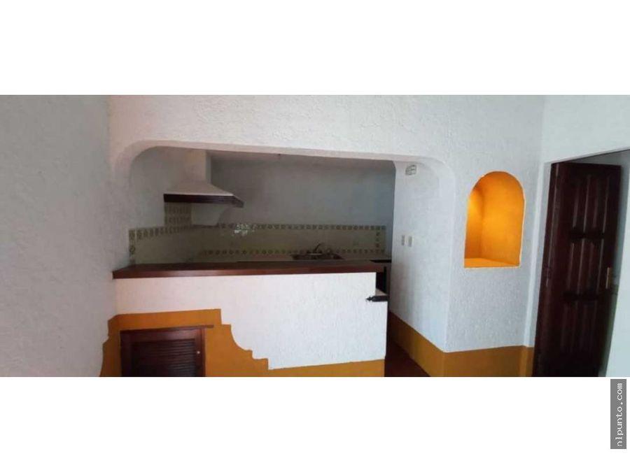 apartamento en renta ubicado en condominio centrico en antigua