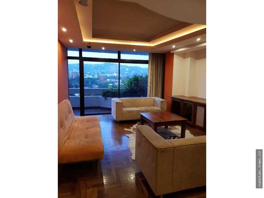 apartamento en renta zona 14 1