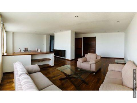 apartamento en renta 245 mts y 3 habitaciones zona 14