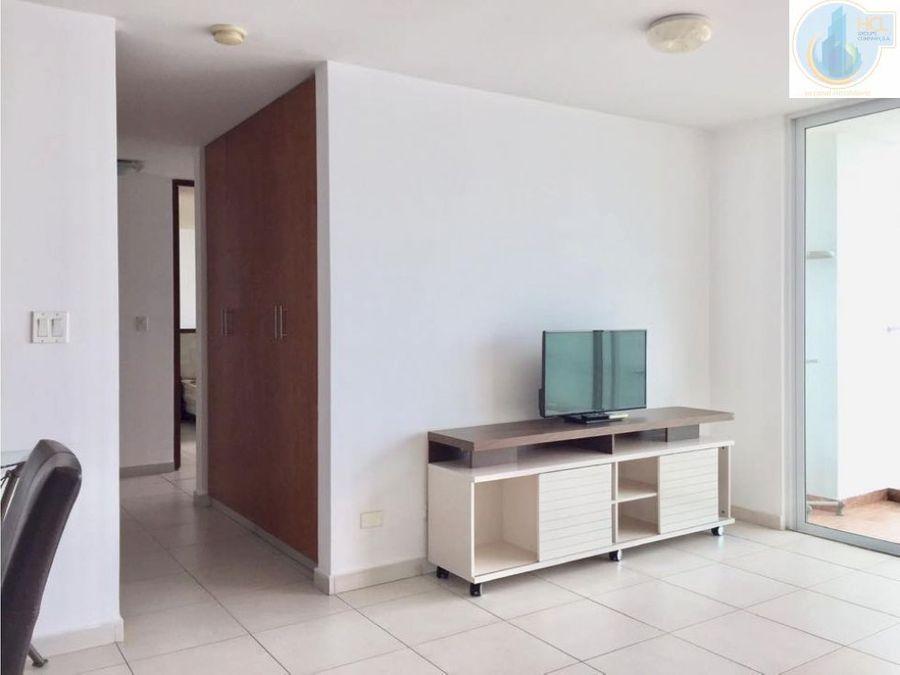 apartamento en san francisco amoblado