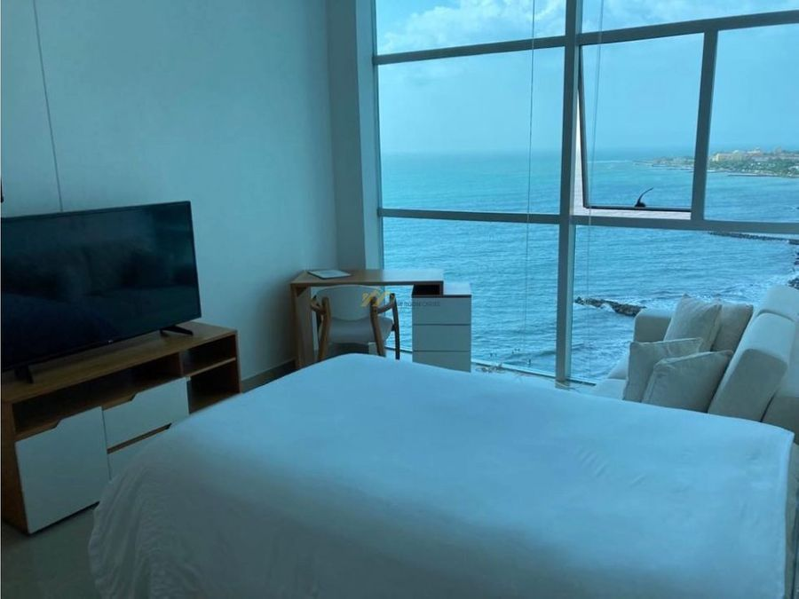 apartamento en venta bocagrande frente al mar