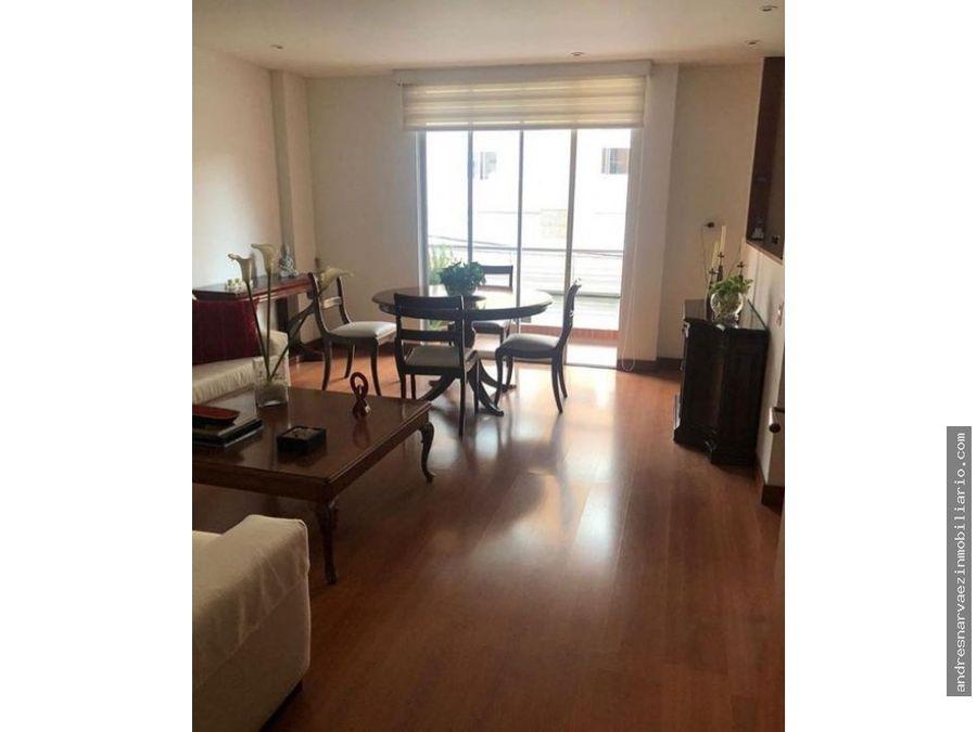 apartamento en venta chico navarra 88 mts