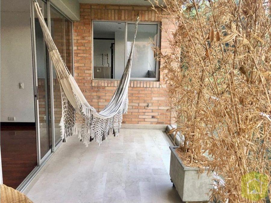 apartamento en venta el poblado sector la calera