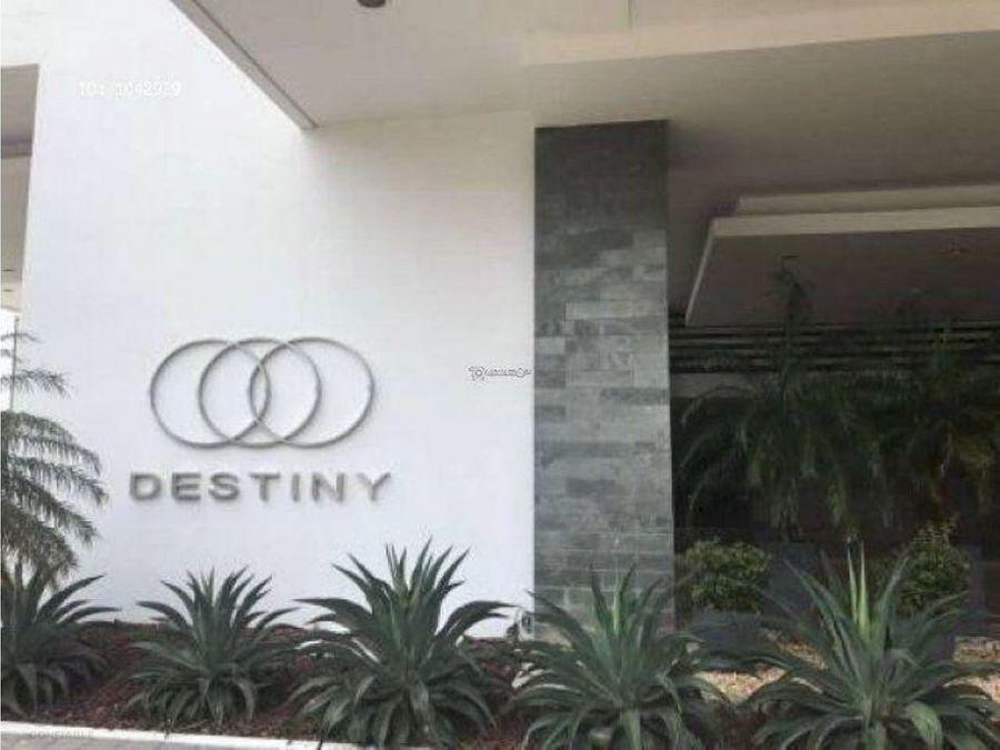 apartamento en venta en avenida balboa ph destiny