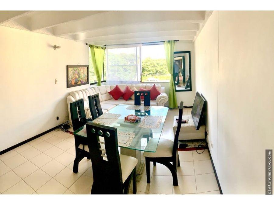 apartamento en venta en condominio en villa del sol cali fd