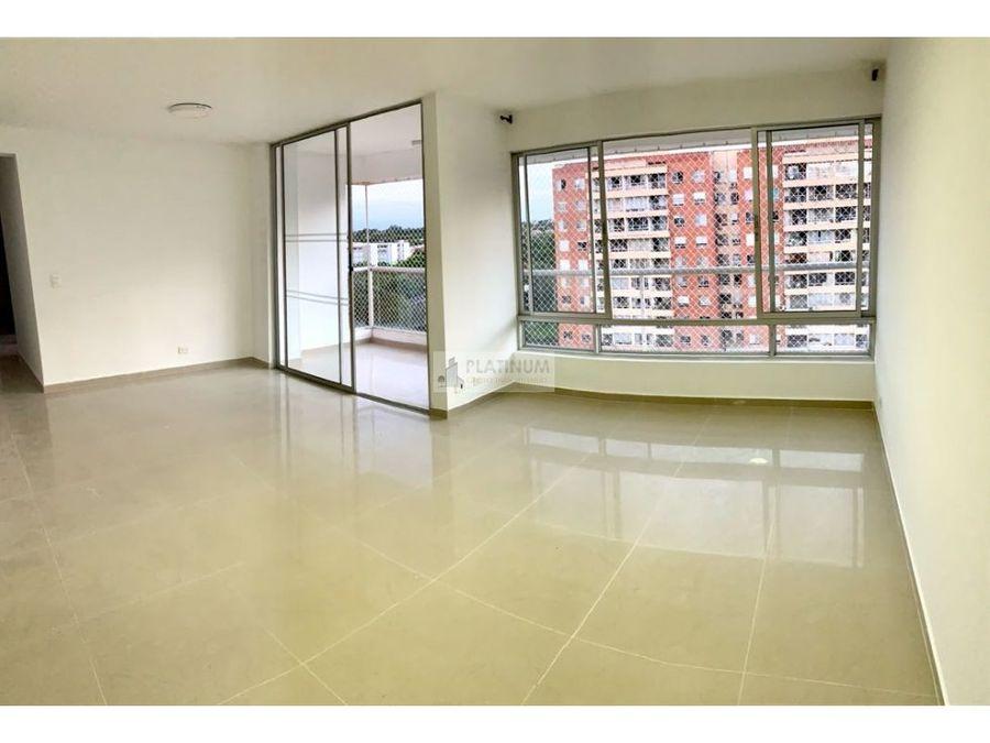 apartamento en venta en conjunto en urbanizacion rio lili cali