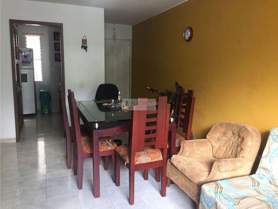 apartamento en venta en conjunto en el refugio cali