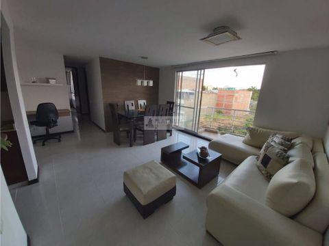 apartamento en venta en condominio en valle del lili tc