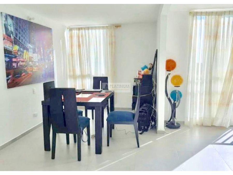 apartamento en venta en conjunto en altos de santa elena cali