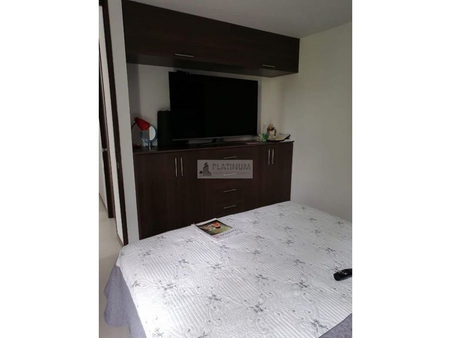 apartamento en venta en conjunto en valle del lili cali