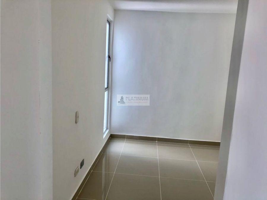 apartamento semiterminado en venta en conjunto en ciudad melendez