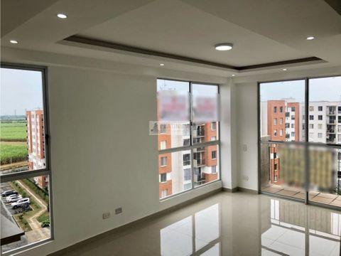 apartamento en venta en conjunto en ciudad melendez cali