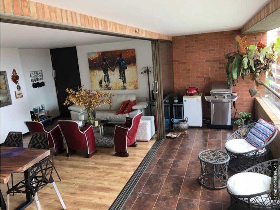 apartamento en venta en la calera el poblado