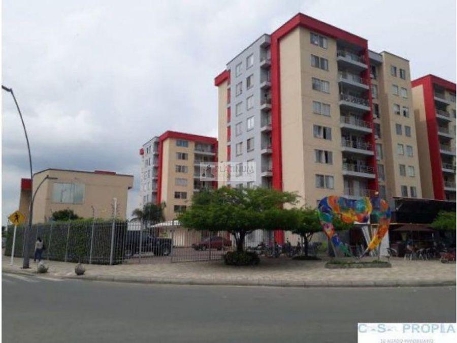 apartamento en venta en condominio en santa barbara palmira am