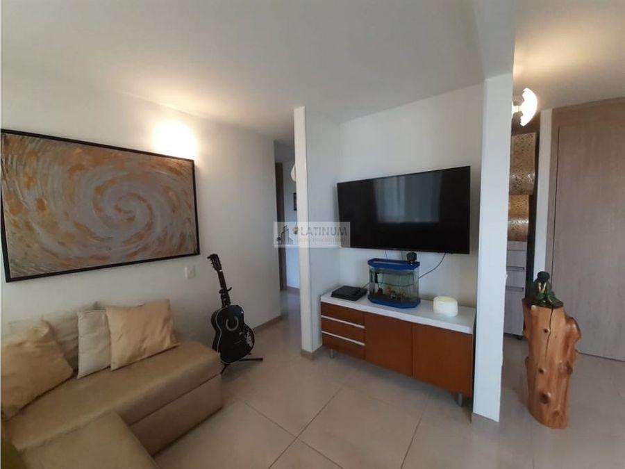 apartamento amoblado en venta en conjunto en prados del norte cali