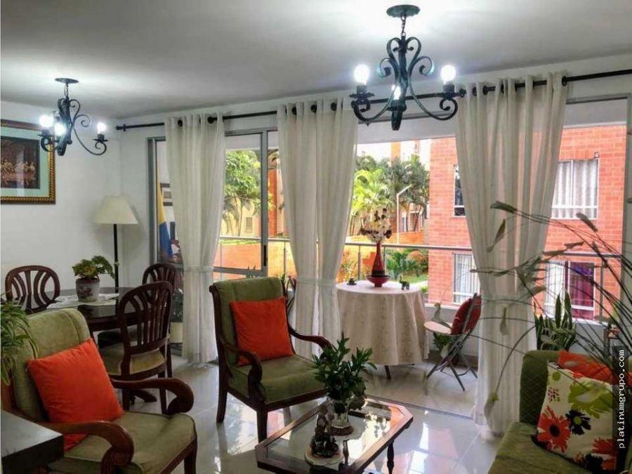 apartamento en venta en condominio en ricon de la flora cali cg