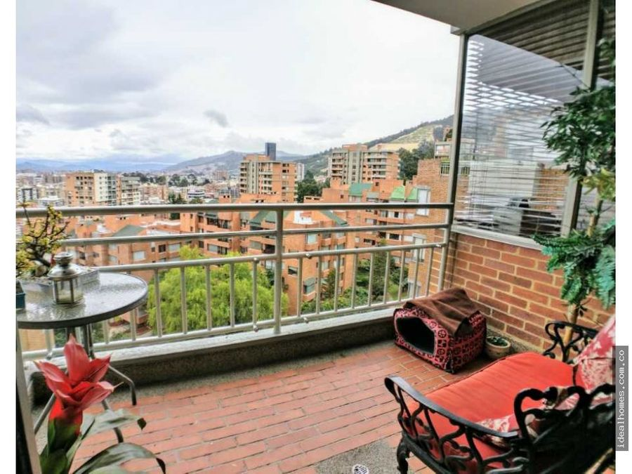 apartamento venta bosques de la canada balcon bogota