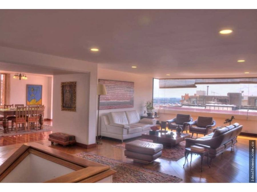 apartamento venta rosales ph duplex terraza bogota