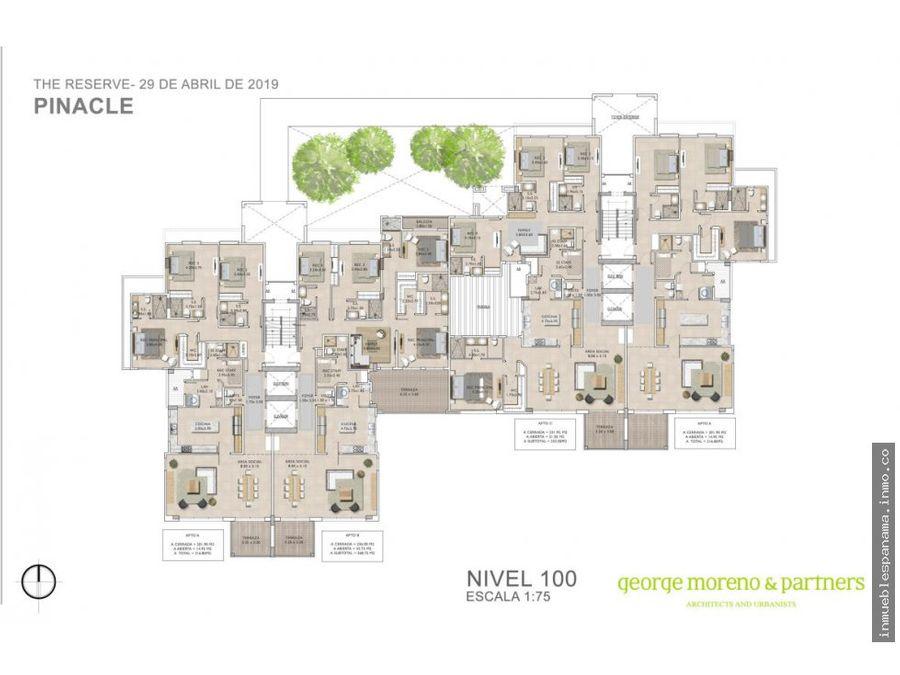 apartamento en venta santa maria rah pa 20 5475