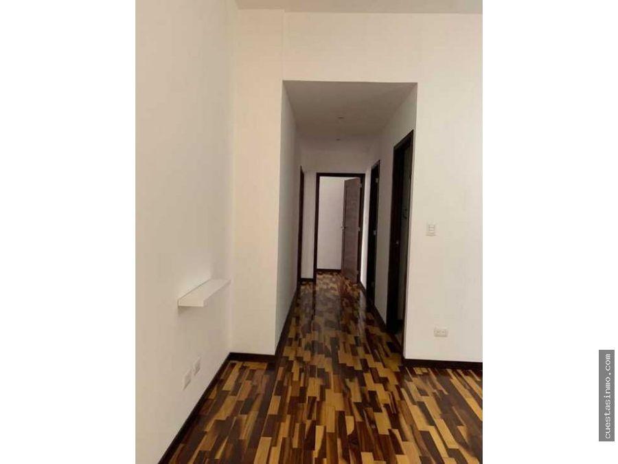 apartamento en venta torre quattro zona 14 1