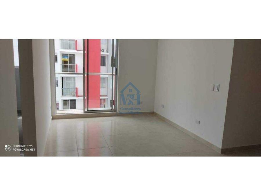 apartamento en venta 68 m2 barrio villanova en monteria cordoba