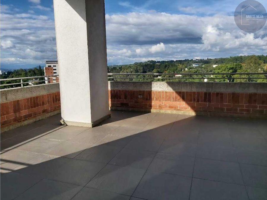 apartamento en ventarenta edificio verdino zona 15 vista hermosa 1