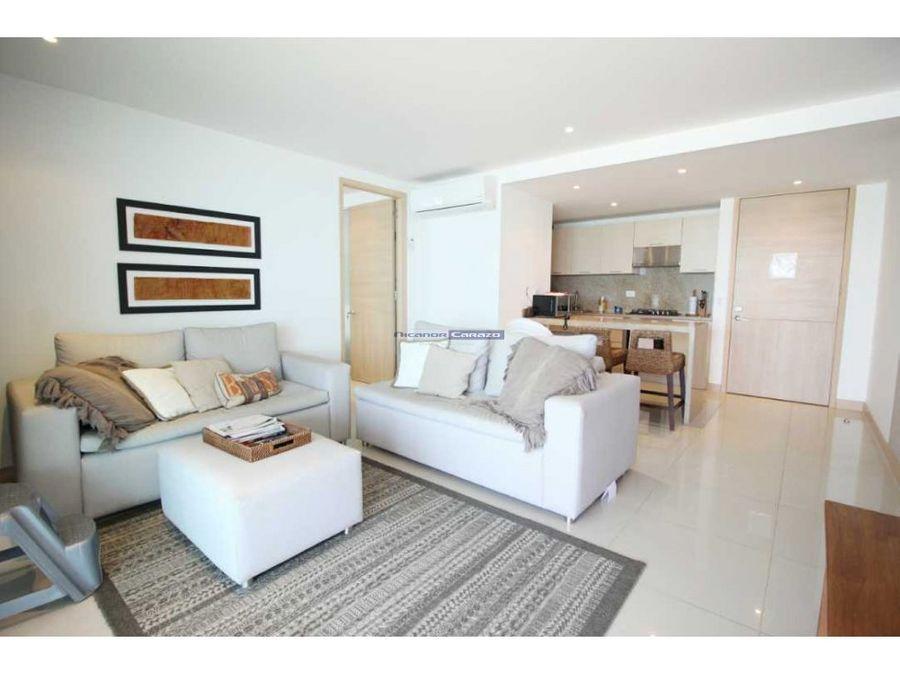 venta de apartamento frente al mar 2 alcobas en crespo cartagena