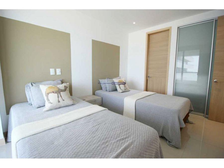 apartamento frente al mar 2 alcobas en cartagena