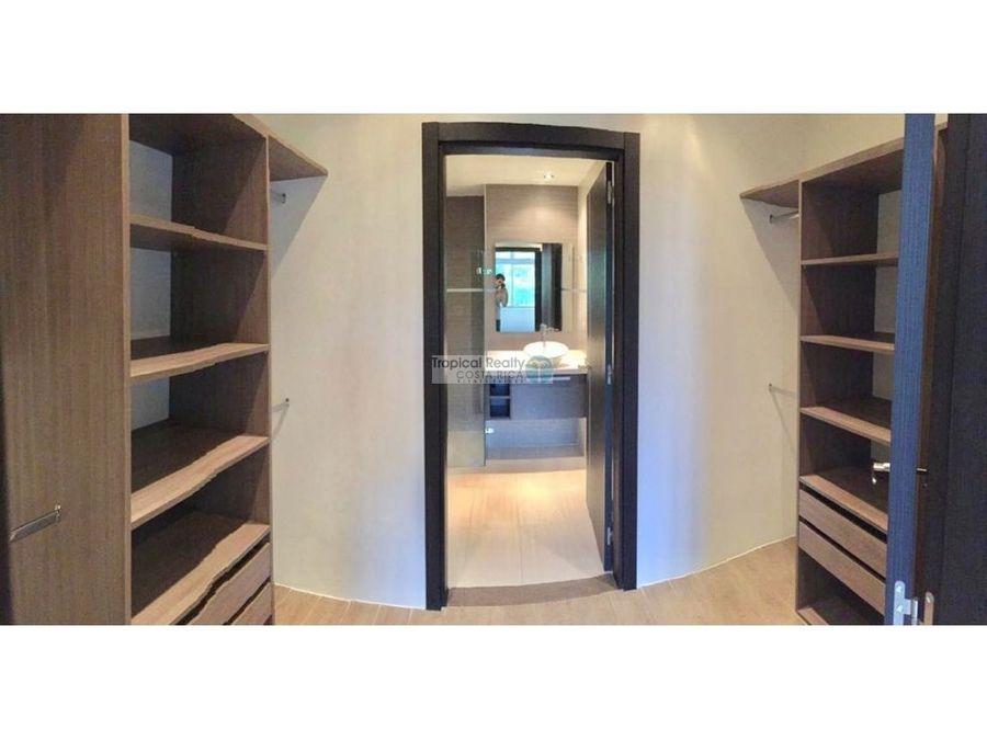 apartamento en condominio con linea blanca para alquiler santa ana