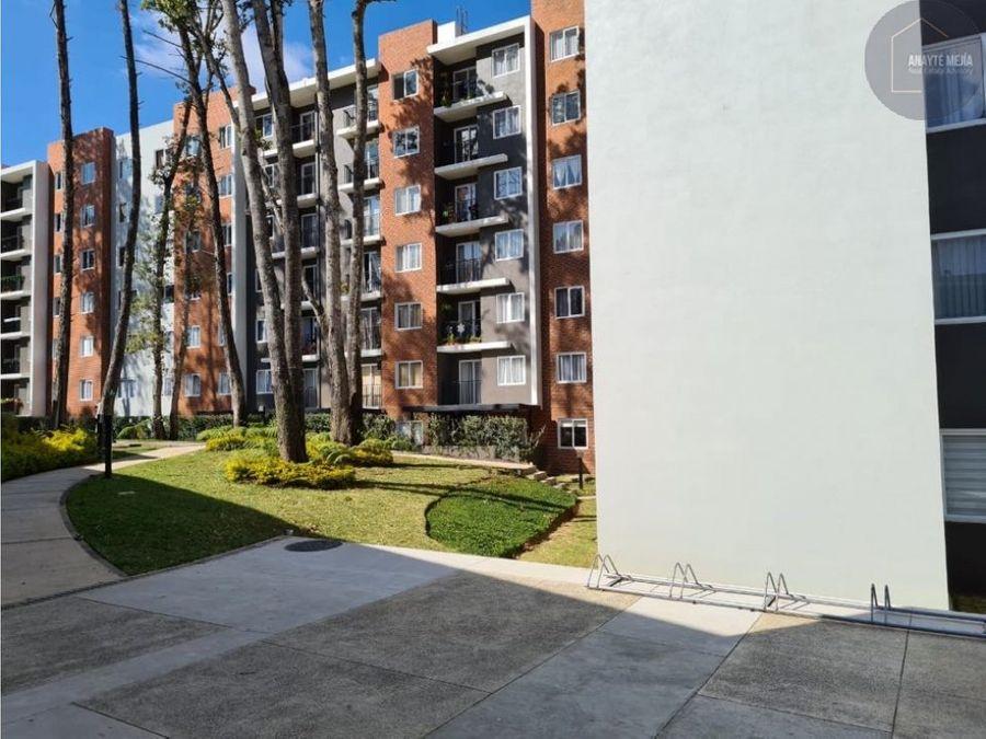 apartamento en renta en parque san angel zona 2