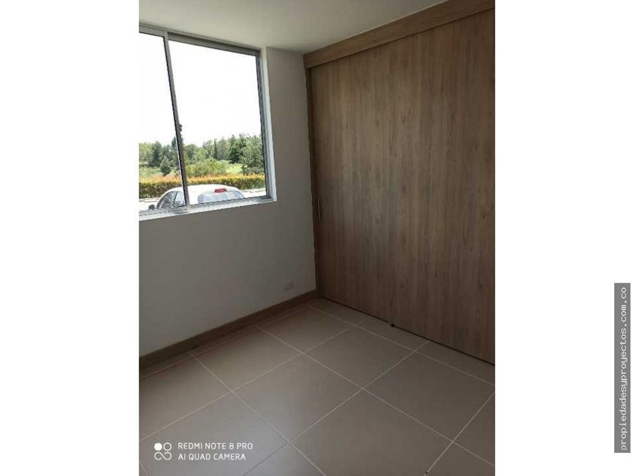 apartamento para venta en sector uco