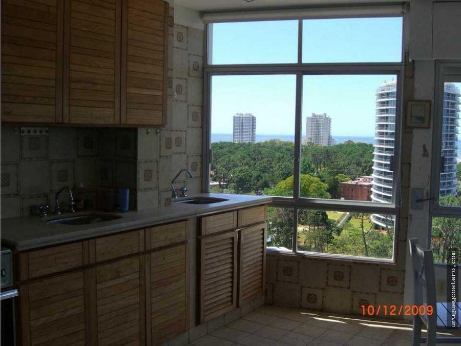 apartamento piso alto con muy buena vista en torre de categoria