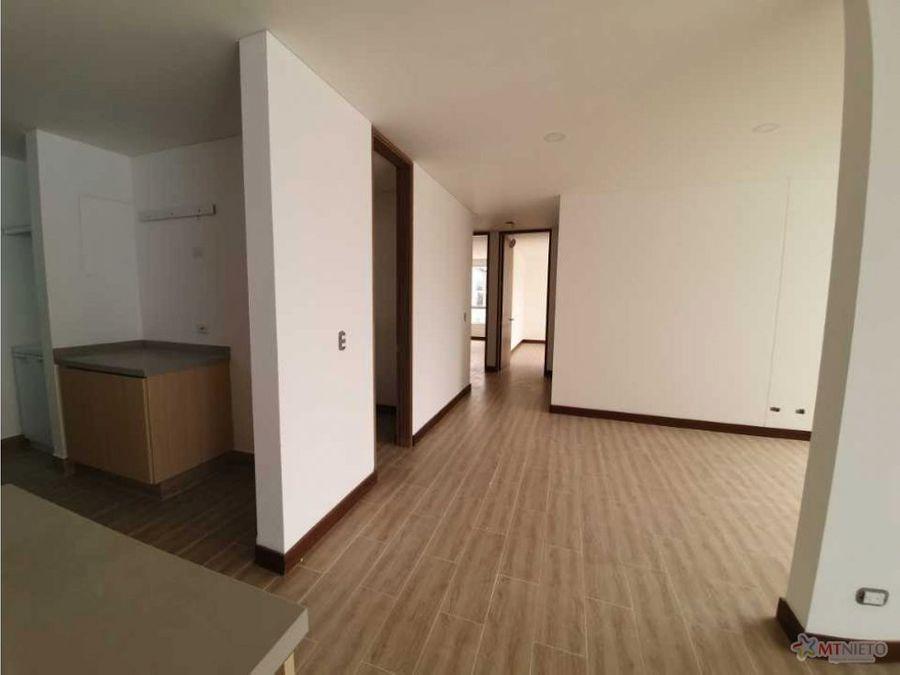 apartamento 15072 m2 de 3 alcobas nuevo en la castellana