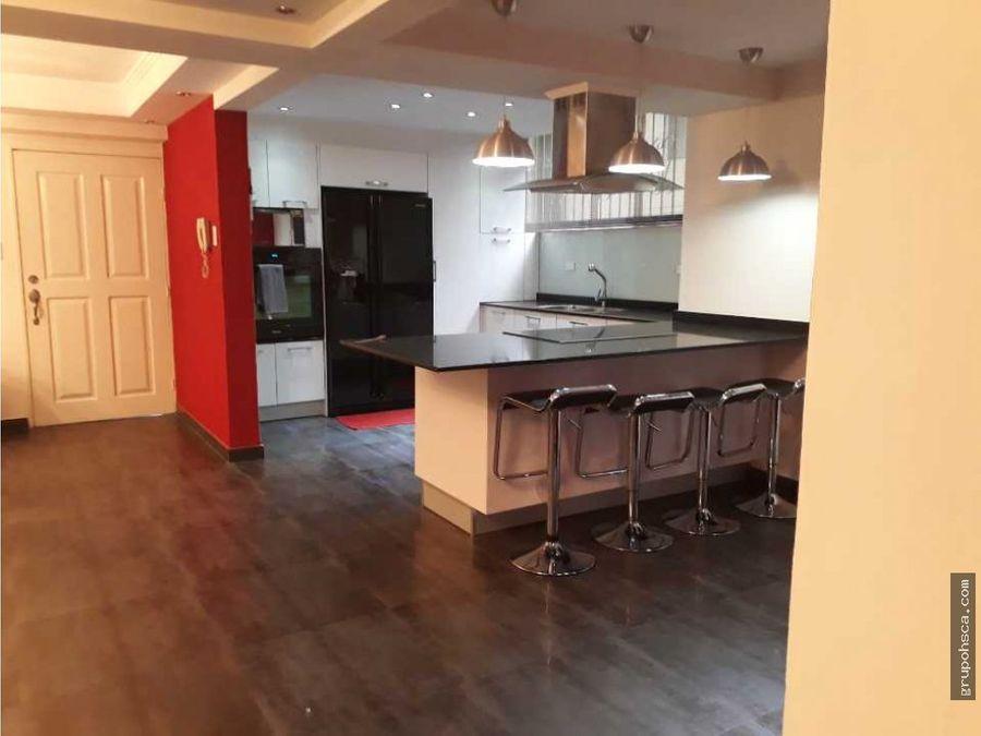 apartamento remodelado en urbanizacion calicanto