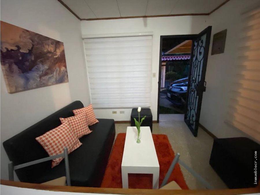 apartamento semi amueblado excelente ubicacion