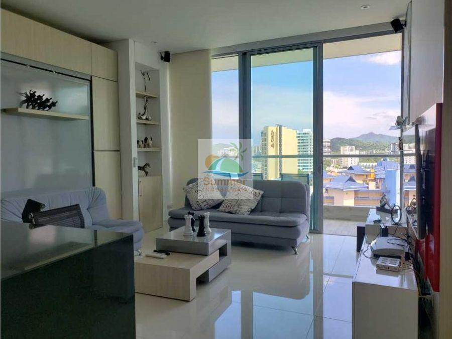 apartamento two towers 1 alcoba amoblado
