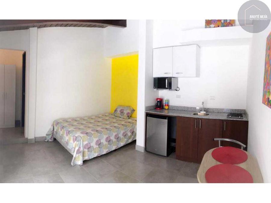 apartamento tipo estudio en alquiler zona 15