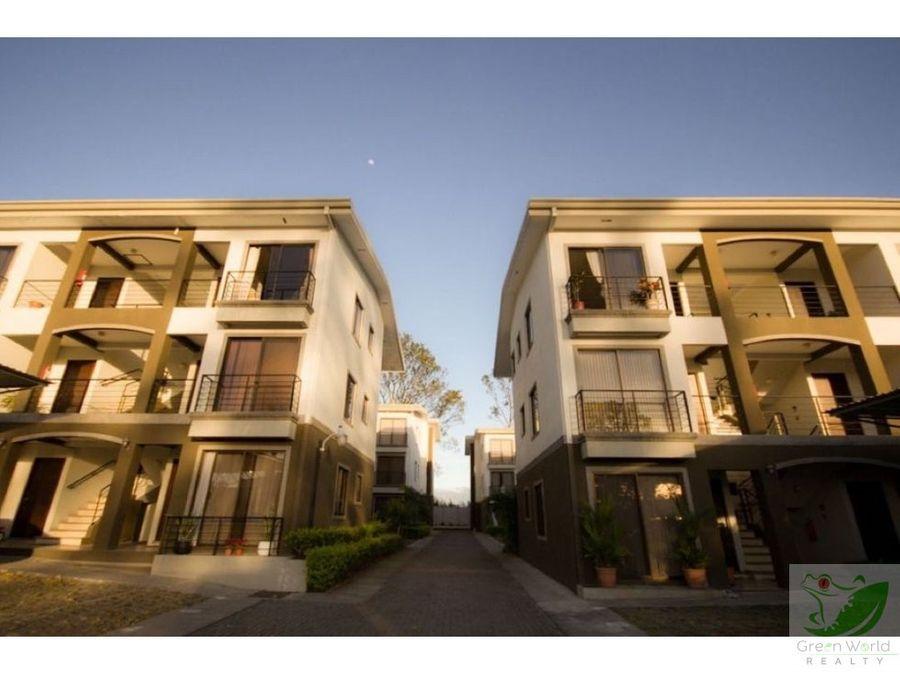 apartamento ubicado en residencial real cariari en primer piso