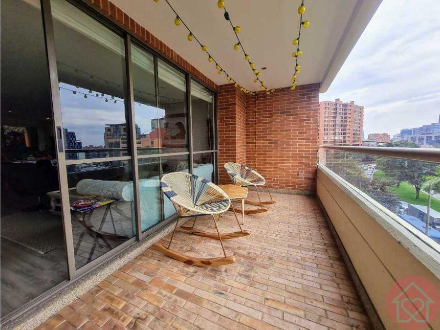 apartamento venta santa barbara alta terraza bogota