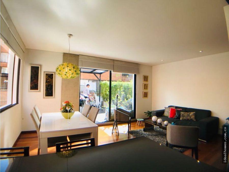 apartamento venta chico navarra terraza bogota