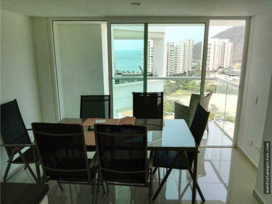 apartamento vista al mar pozos colorados santa marta 001