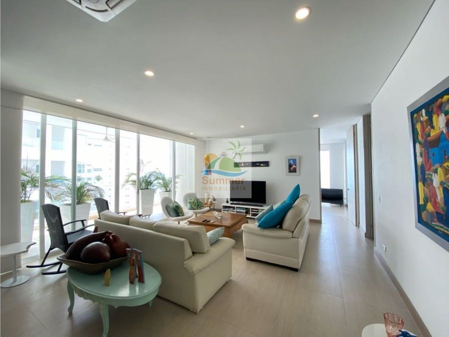 apartamento 3 alcobas 210m2 vista al mar