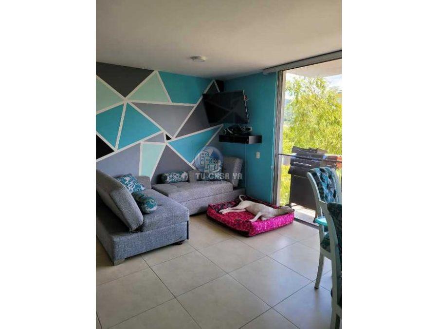 apartamento 78m2 con hermosos acabados y vista en exclusivo conjunto