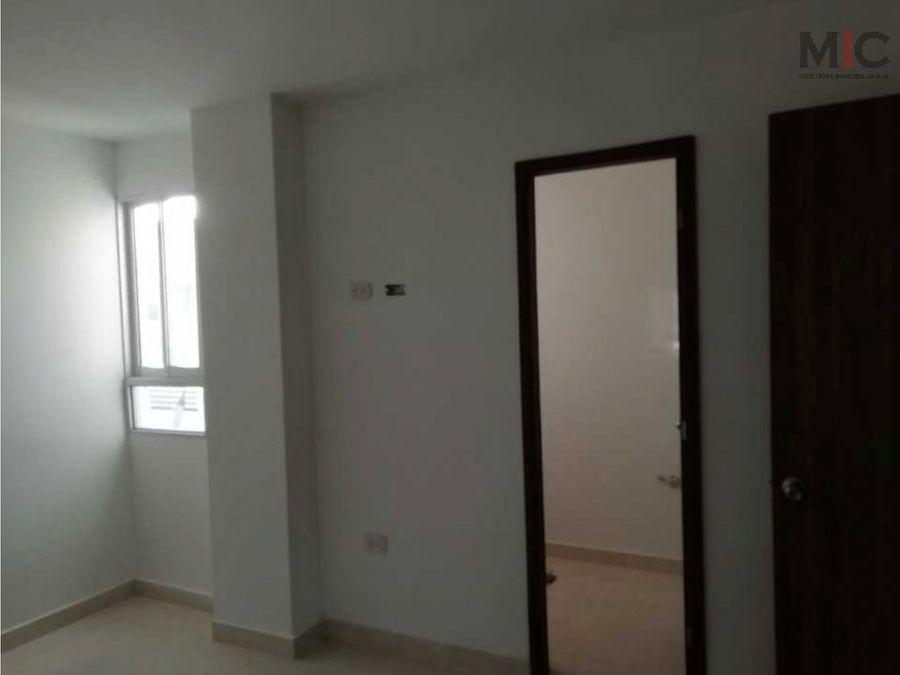 se vende apartaestudio nuevo en conjuntopuerto colombia