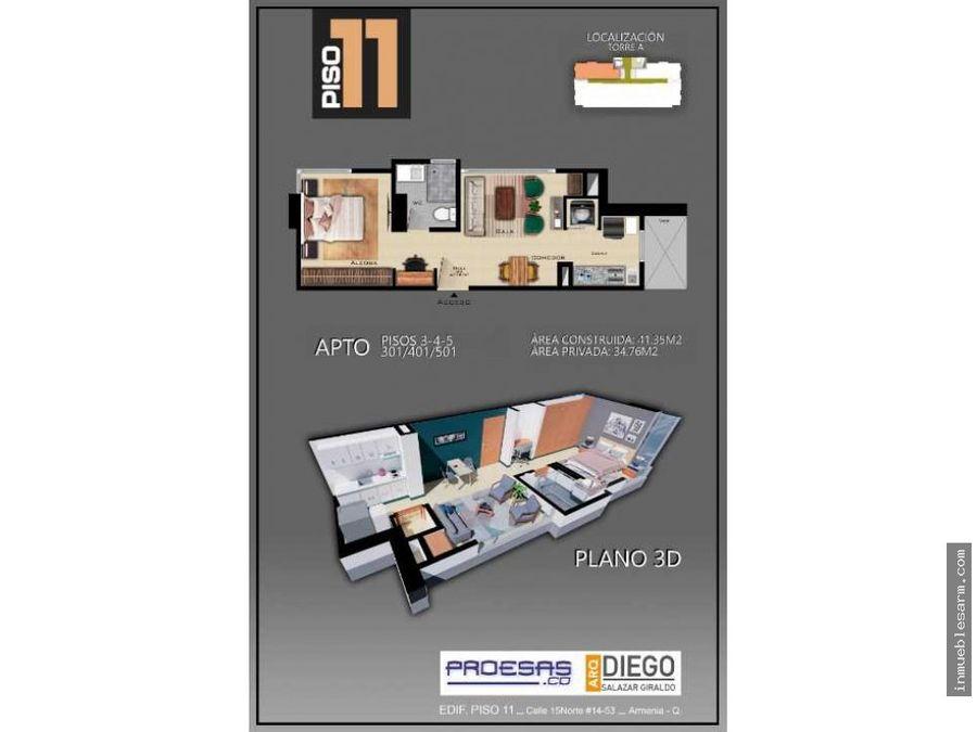 apartasuite 301 401 501 proyecto piso 11