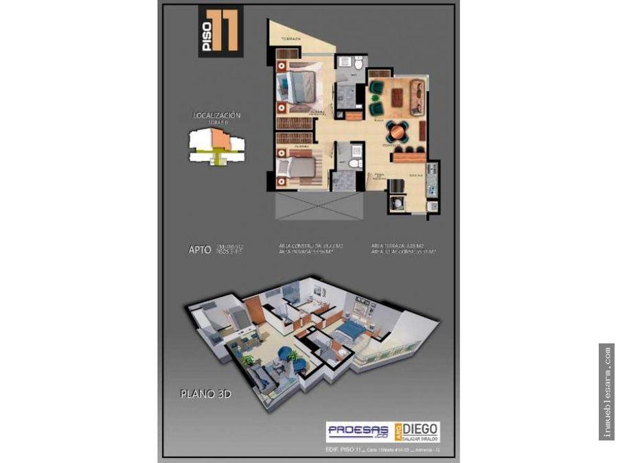 apartasuite 410 510 proyecto piso 11