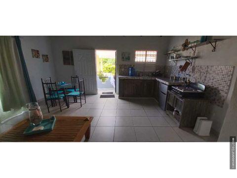 apartata estudio en alquiler en barrio hospital de rio san juan