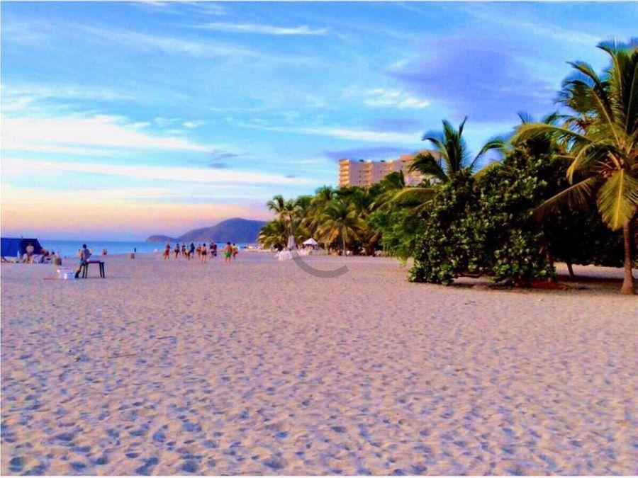 apto 182 mt2 frente a la playa en irotama sta mta
